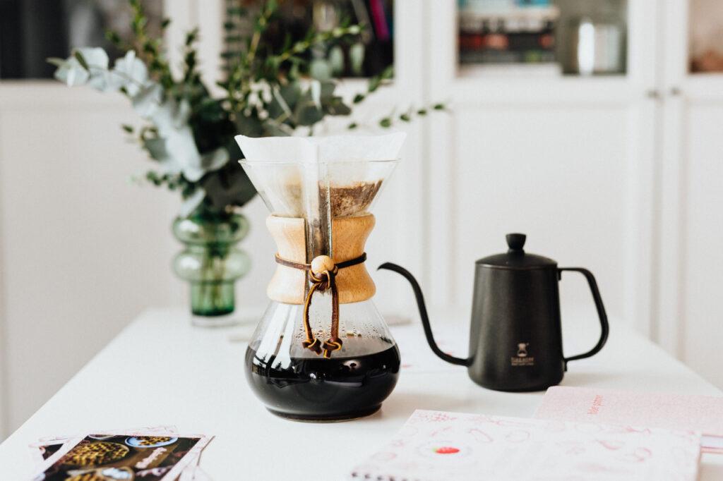 ポッドとコーヒー