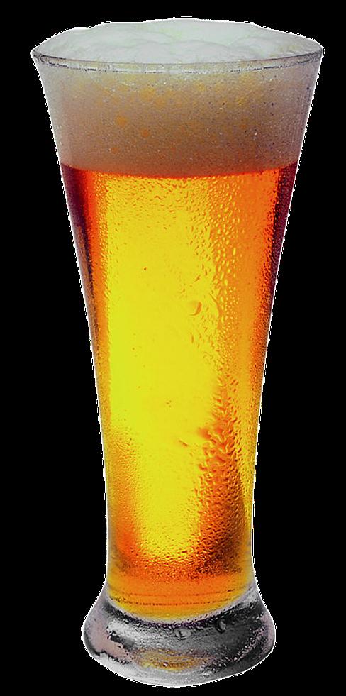 細長のグラス