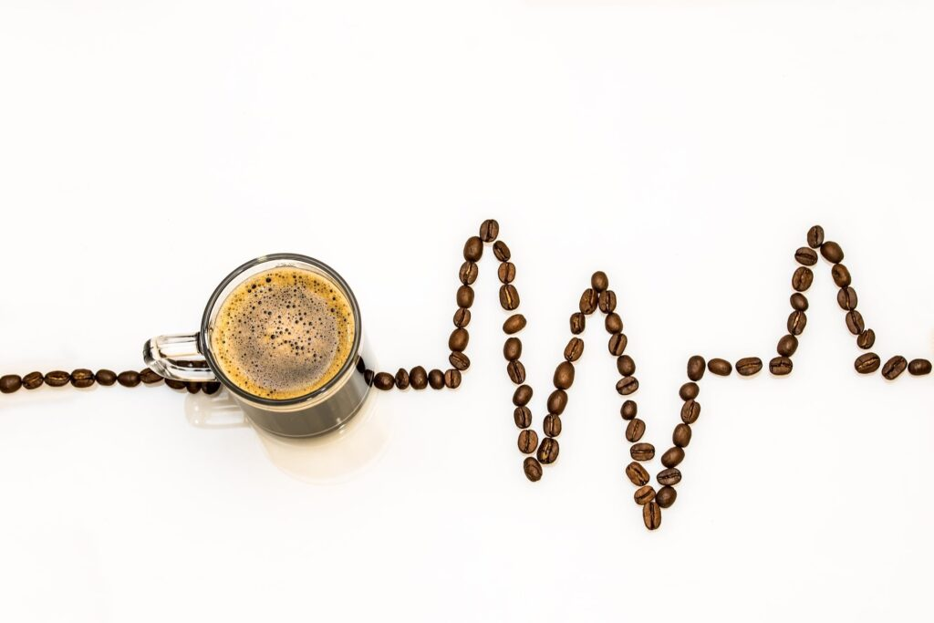 コーヒー豆の心電図
