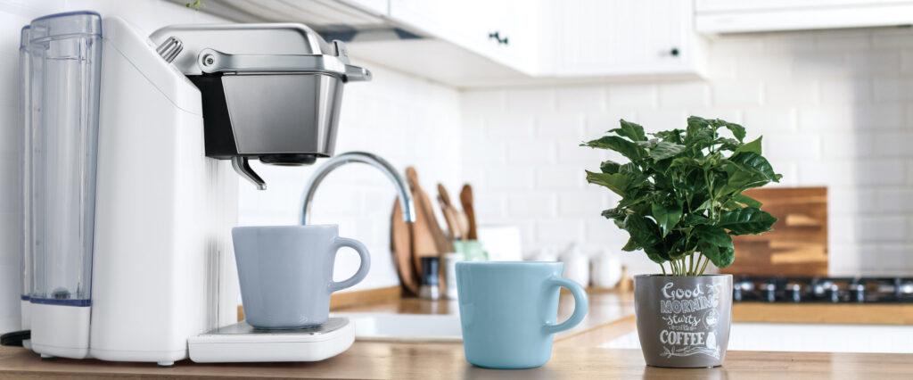 キューリグのコーヒーマシン