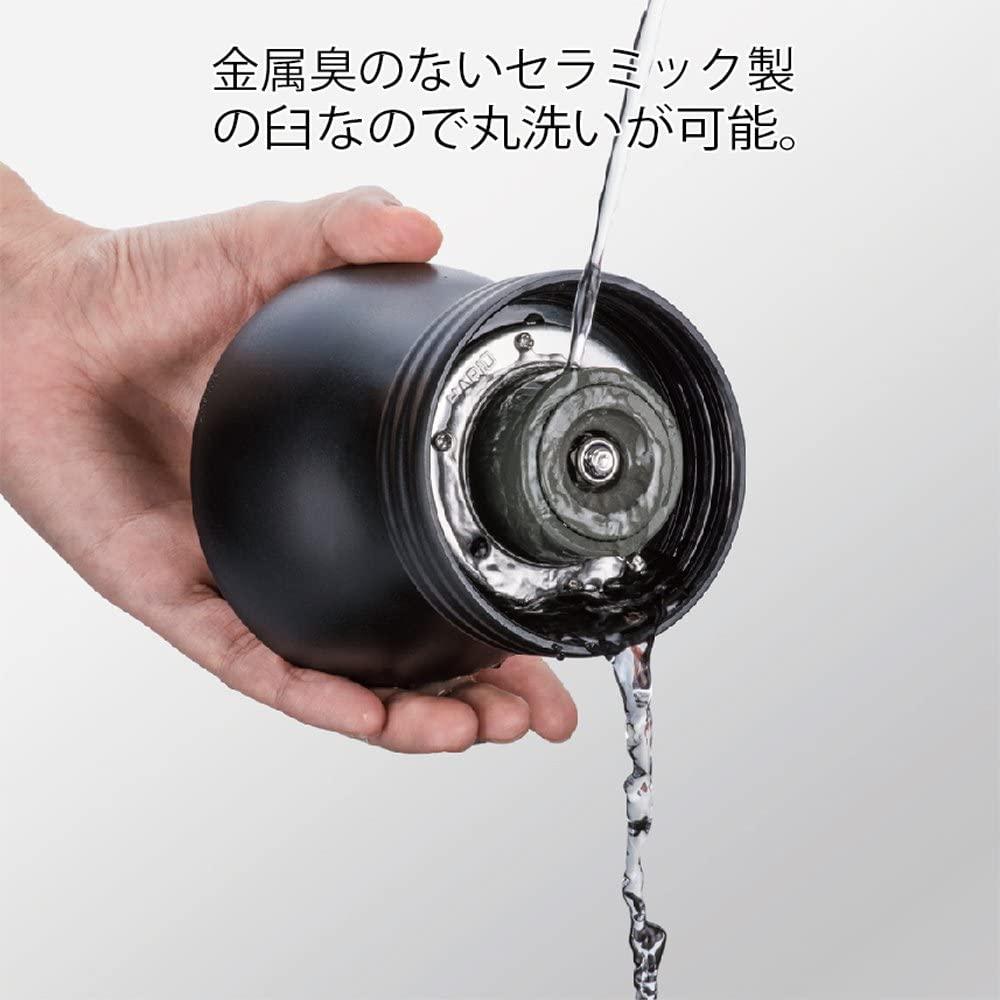 ミルの水洗い