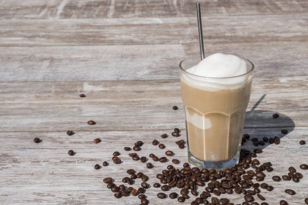 ミルクアイスコーヒー