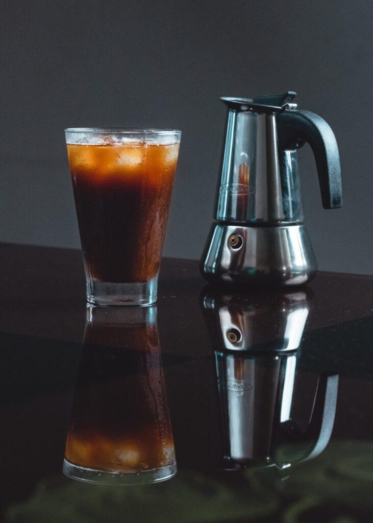 アイスコーヒーとポット