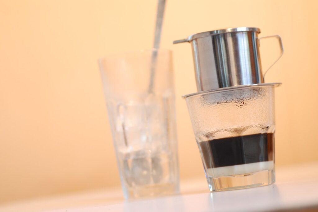 氷入りアイスコーヒー