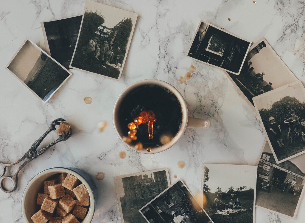 コーヒーと写真